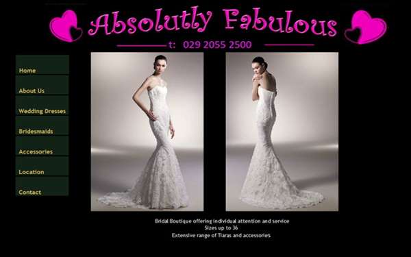 Absolutly fabulous Bridal, Cardiff