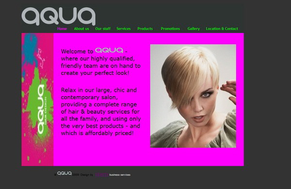 Aqua Hair Salon, Cardiff