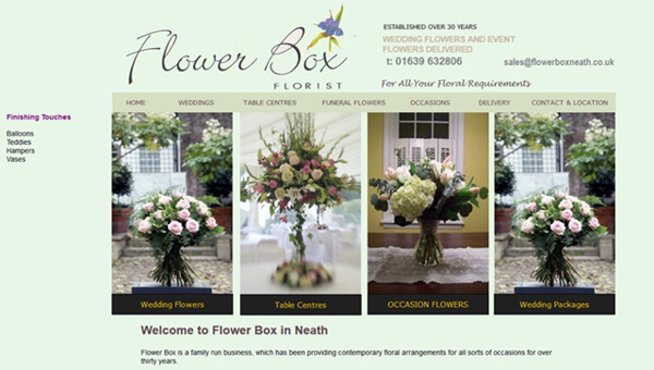 Flowerbox Florist, Neath