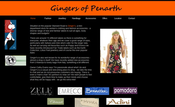 Gingers Boutique, Penarth