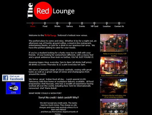 The Red Lounge, Pontypridd