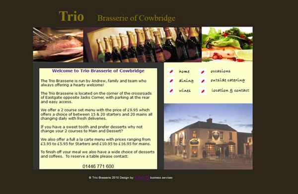 Trio Brasserie, Cowbridge
